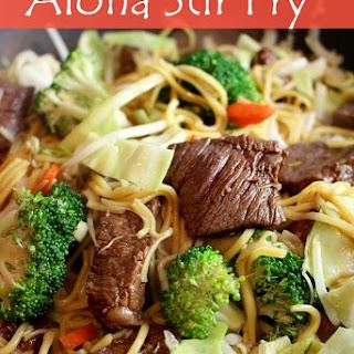 Aloha Stir Fry.
