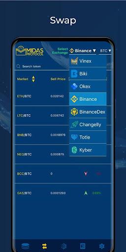 Midas Protocol - Crypto Wallet: Bitcoin, Ethereum 1.6.10 screenshots 5