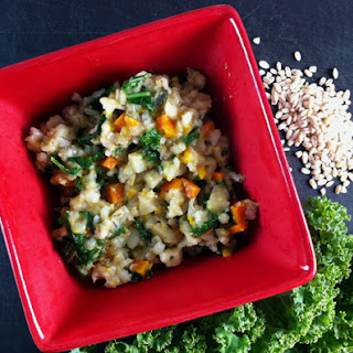 Root Veggie Barley Risotto from Vegan Slow Cooking for Two or Just For You