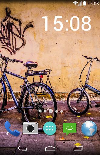자전거 배경 화면