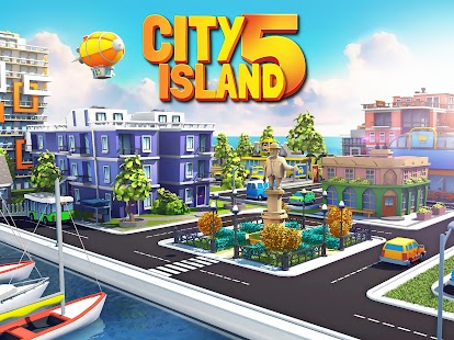City Island 5 - Tycoon Building Offline Sim Game Screenshot