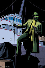 Photo: THE GREEN HORNET #5 COVER. 2013. Ink(ed by Joe Rivera) on bristol board with digital color, 11 × 17″.