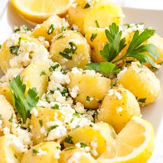 Greek-Style Boiled Potatoes.