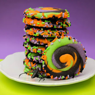Swirly Halloween Cookies Recipe