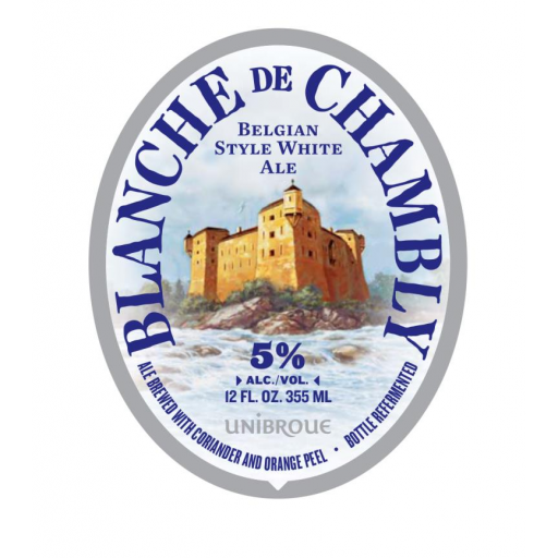 Unibroue Blanche De Chambly Witbier