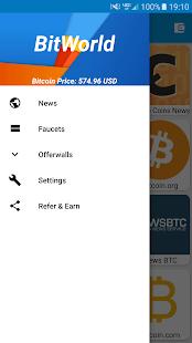 BitWorld - Everything Bitcoin screenshot