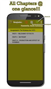 Bangladesh's The Evidence Act 1872 - náhled
