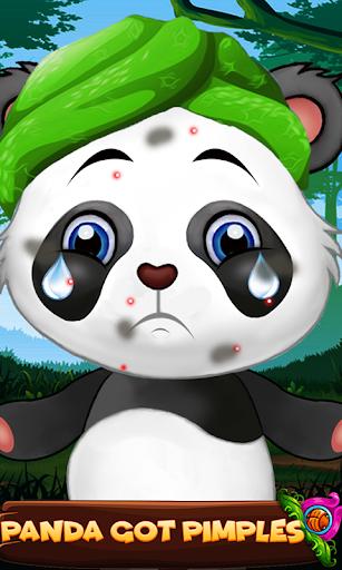 Cute Panda Cleanup Salon: Panda Wash & Makeup Spa 1.0 screenshots 2