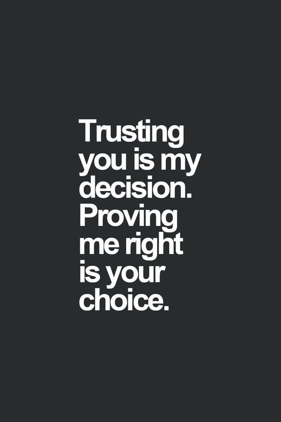 72 of the Best Please Trust Me Quotes