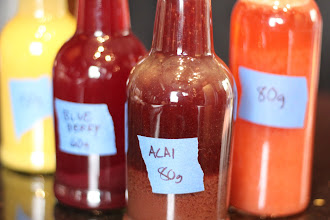 Photo: Mango, Blueberry, Acai, and Strawberry Kombucha