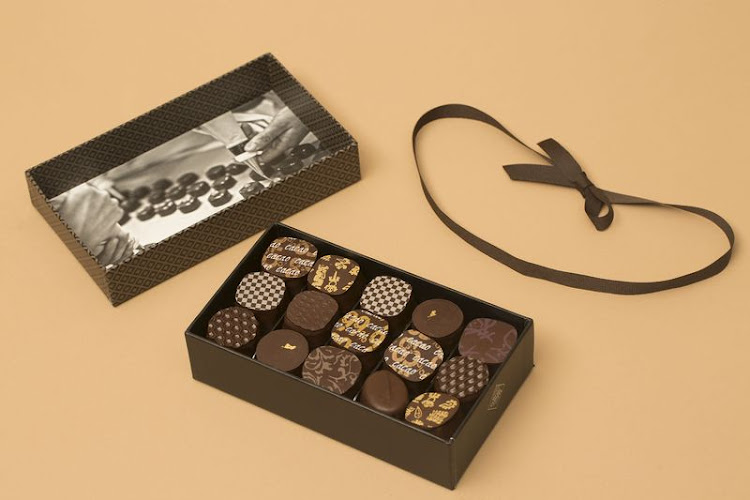Michel Cluizel chocolates.Photographer: Picture: BLOOMBERG
