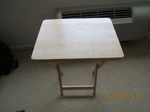 Photo: Small Table x 4 - $20 ($5 Each) - 2 black and 2 beige
