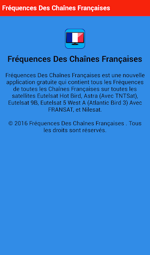 玩免費程式庫與試用程式APP|下載Fréquences Chaînes Françaises app不用錢|硬是要APP
