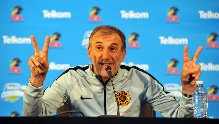 Giovanni Solinas coach of Kaizer Chiefs.
