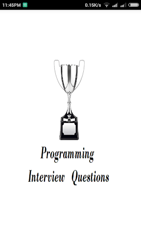 Programming Interview Question