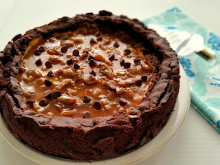 Buttered Pecan Chocolate Chip Cheesecake Recipe