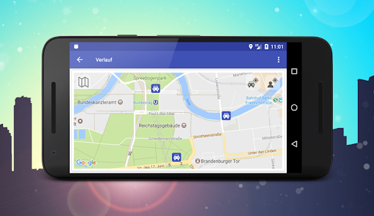parking finde mein auto automatisch apps bei google play. Black Bedroom Furniture Sets. Home Design Ideas