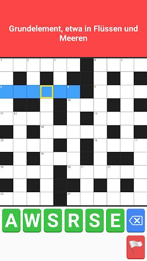 Crossword German Puzzle Free Word Game Offline 2.5 screenshots 3