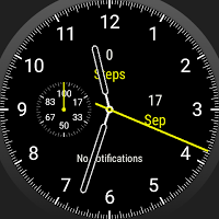 Essential 3100 - Wear OS Watch Face Ambient Second