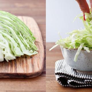 Sweet Cabbage Salad.