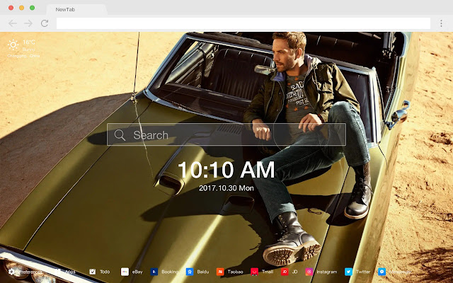 Paul Walker Popular Stars New Tabs HD Themes