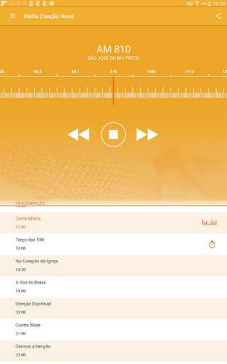 Rádio Canção Nova 3.5.1 screenshots 6