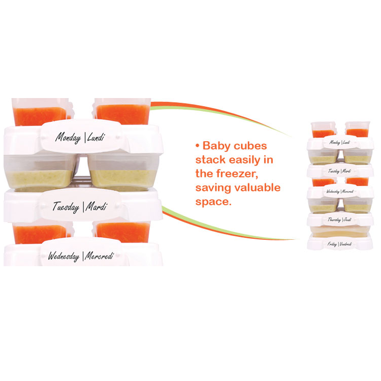 PETITE CREATIONS Baby Cubes (70ml/2oz x 8pcs)