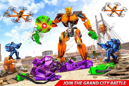 Drone Robot Car Transforming Gameu2013 Car Robot Games screenshots 12