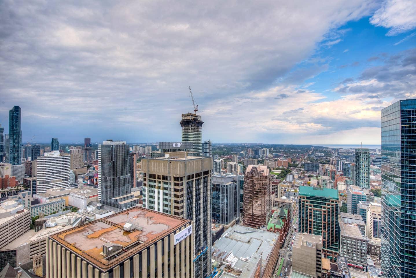Sky view condo Toronto
