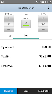 Tip Calculator- screenshot thumbnail