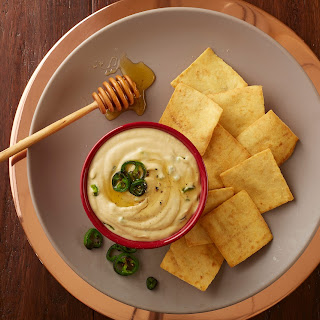 Jalapeno Hummus with Honey