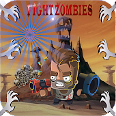 fight zombies games