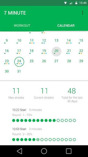 7 Minute Workout Pro  screenshots 3