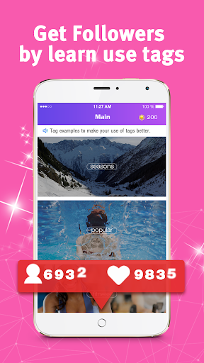Download Boost Real Followers by use tags MOD APK 2019