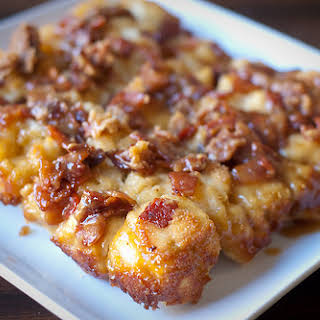 Maple-Bacon Biscuit Bake.