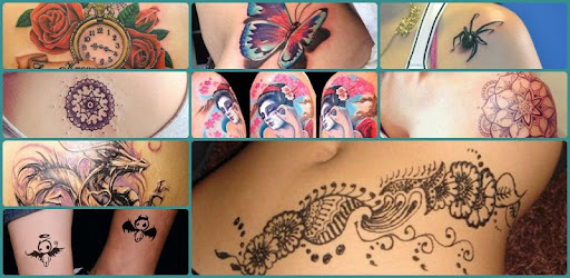 Tattoo Design For Women app (apk) free download for Android/PC/Windows screenshot