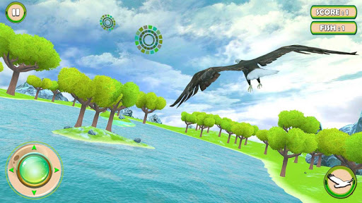 Golden Eagle Survival Simulator: Fish Hunting 3D 1.2 screenshots 5