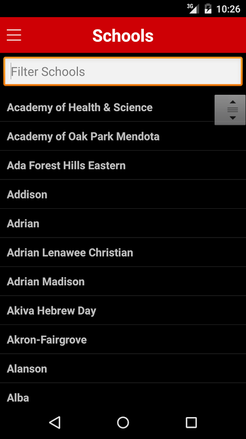 MHSAA - Mobile- screenshot
