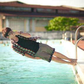 i love summer by Chuyên Blue - People Portraits of Men