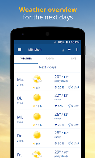 wetter.com - Weather and Radar Apk 2