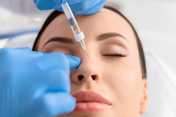 Image result for اصلاح فرم بینی با تزریق ژل چیست