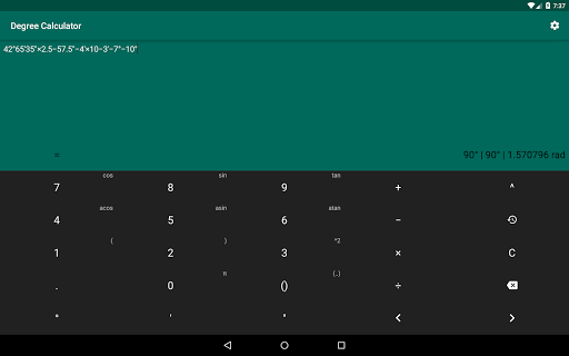 Degree Calculator - Apps on Google Play