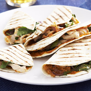 Chicken Satay Wraps