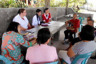 Photo: God provided an opportunity for Judy, Rosa, and Marian to meet with church ladies that own guest houses on the beach. Rosa was able to share with them about the work of Ransom Ministries in Chiang Mai and encourage them in the role the church plays in offering hope and freedom to those involved in prostitution.