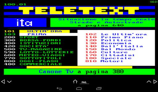 Teletext Ita screenshot 7