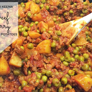 Pakistani Keema Beef Curry