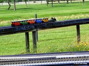 Photo: Caleb Roberts steamer and wagons     HALS Public Run Day 2015-0516 10:05 AM   RPW