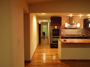Photo: Kitchen and Hallway (after)
