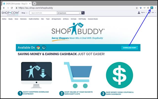 ShopBuddy for Australia: Cash Back Companion