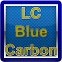 LC Carbon Blue Glass Theme icon